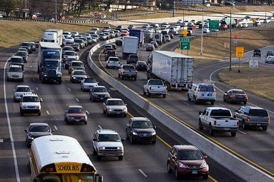 $6 billion spent on traffic costs last year by residents of Austin, Bexar, Travis, Hays, and Williamson countries. - WIKIMEDIA