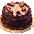"6"" german chocolate cake from central market, $16.99"