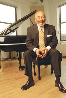 77-year-old jazz piano legend Eddie Palmieri