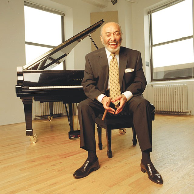 77-year-old jazz piano legend Eddie Palmieri - COURTESY PHOTO
