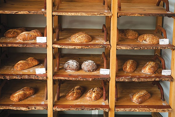A Selection of Fresh Breads