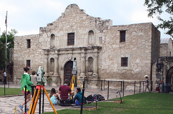 A series of studies confirmed serious erosion concerns at the Alamo, rekindling calls for preservation projects. - TEXAS A&M