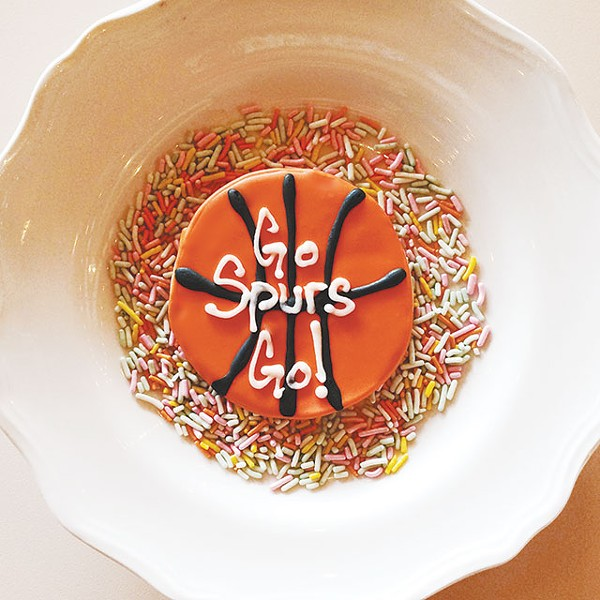 A super sweet way to support the Spurs from Bird Bakery - COURTESY PHOTO