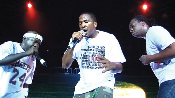 A Tribe Called Quest in action in better times. - COURTESY PHOTO
