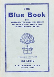 "BLUE BOOK: PORTAL TO TEXAS HISTORY - A whole new meaning to ""blue book"""
