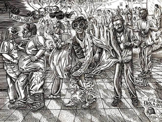 A work by Albert Alvarez - COURTESY
