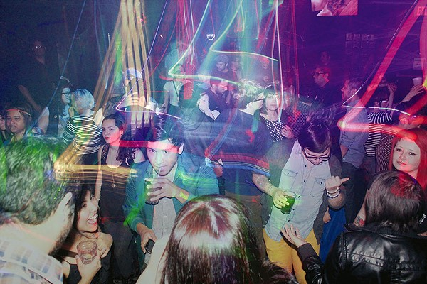 A young crowd converges on the dance floor at Brass Monkey - FILE PHOTO