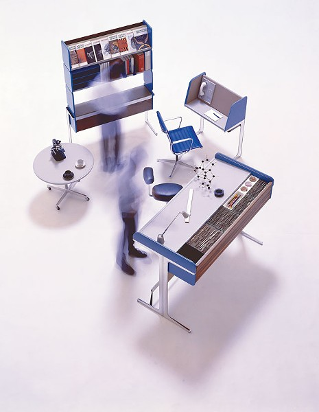 Action Office I, 1964 - VITRA DESIGN MUSEUM ARCHIVE