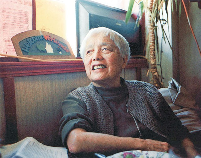 Activist Grace Lee Boggs, one of six radical women featured in the CineMujer film series - COURTESY PHOTO
