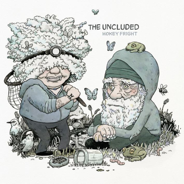 the-uncluded_hokey-fright_album-artjpg