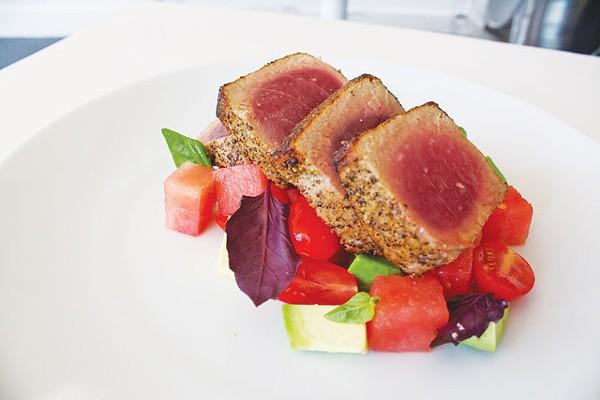 Ahi tuna from Feast - VERONICA LUNA