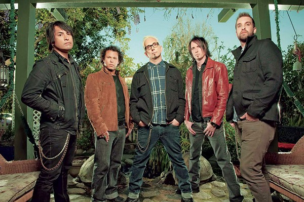 Alexakis (center) with the ever-changing Everclear. - COURTESY PHOTO