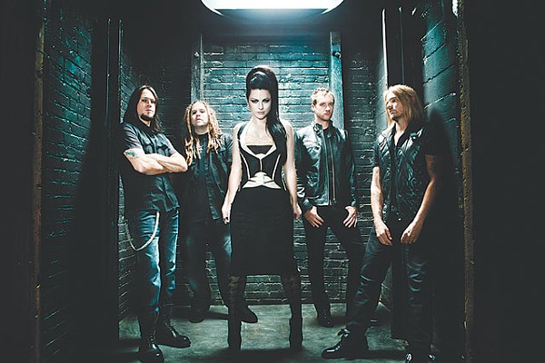Amy Lee is still at the center, but Evanescence is a group effort. - COURTESY PHOTO