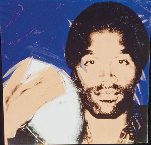 Andy Warhol, O.J. Simpson, 1978 - COURTESY PHOTO, COLLECTION OF RICHARD WEISMAN