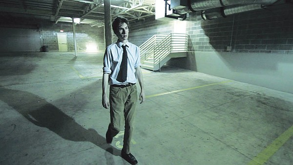 Anthony Peterson in Nicholas Wachter's The Receptionist. - COURTESY PHOTO