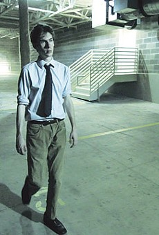 Anthony Peterson in Nicholas Wachter's The Receptionist.