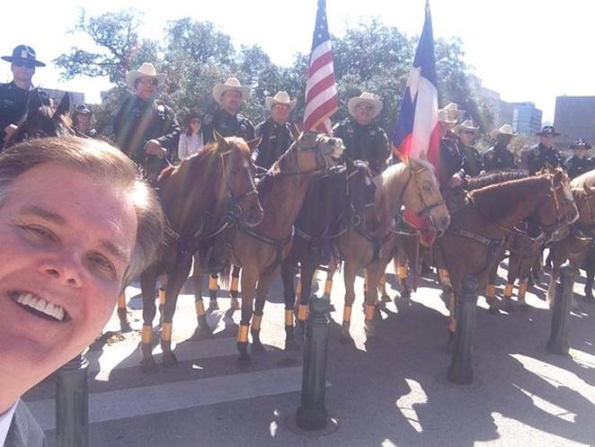 Texas Lieutenant Governor Dan Patrick - DAN PATRICK