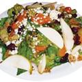 art school salad, $7.50