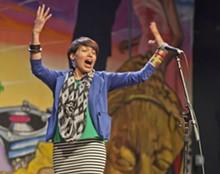 Artist and poet Liza Garza - COURTESY