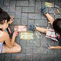 Artpace Chalk It Up is This Saturday