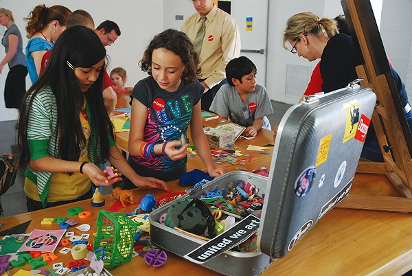 Artpace inspires creative young minds through hands-on programs and summer camps. - COURTESY
