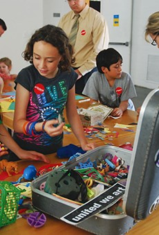 Artpace inspires creative young minds through hands-on programs and summer camps.