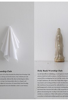 Artpace International Artist-in-Residence Series 2: Holy Worship Clubs