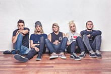 Aussie pop-rock sensation Tonight Alive, ready to make your Warped Tour memories