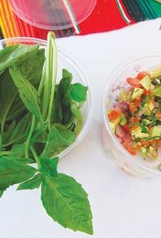 Award-winning salsa fixings — without cilantro.