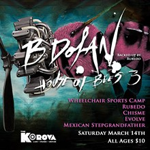 ISMO PRODUCTIONS - B. Dolan Flyer