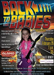 Back to the Future benefiting March of Dimes