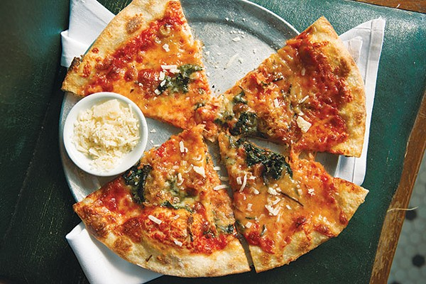 Barbaro's taleggio, kale and potato pizza is no more - FILE PHOTO