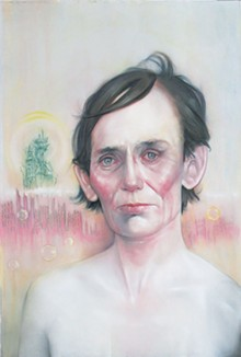 COURTESY PHOTO - Barnaby Whitfield, I Can't Get Out of What I'm Into With You,  2010. Pastel on paper. Courtesy Sala Diaz