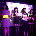 Bettie Page Look-alike Contest at Brass Monkey