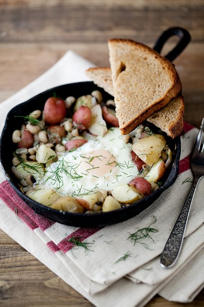 Black-Eyed Peas and Dill Potato Skillet - COURTESY OF NATURALLY ELLA