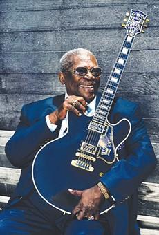 Bluesman B.B. King and Soul Stylist Booker T. Jones Visit the Majestic