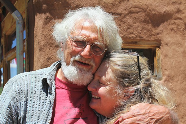 Bob Shacochis and Barbara Peterson - COURTESY