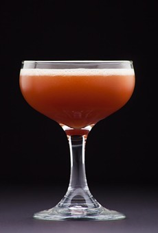 Bohanans' The Rosso Corsa, the signature cocktail for the 2015 San Antonio Cocktail Conference