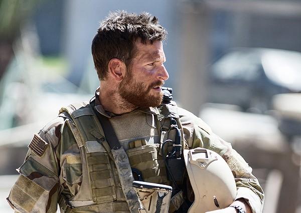 Bradley Cooper in American Sniper - COURTESY OF WARNER BROS.