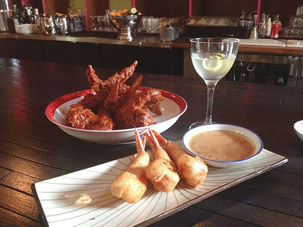 Bring on the napkins—these wings can get messy - JESSICA ELIZARRARAS