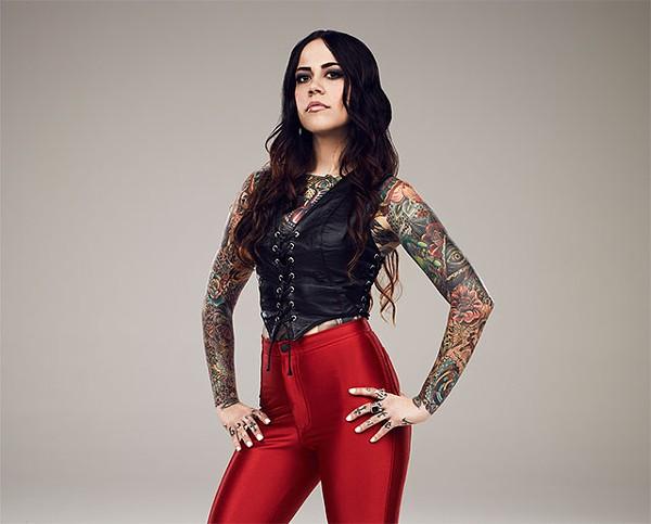 Brittany Elliott from Arc Angel Tattoo - COURTESY PHOTO