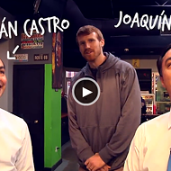 Castro Twins Join Matt Bonner on a Sandwich Hunt