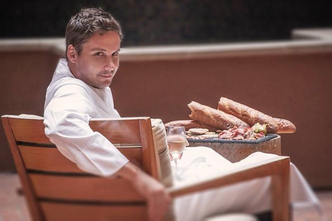 Chef Robbie Nowlin - COURTESY