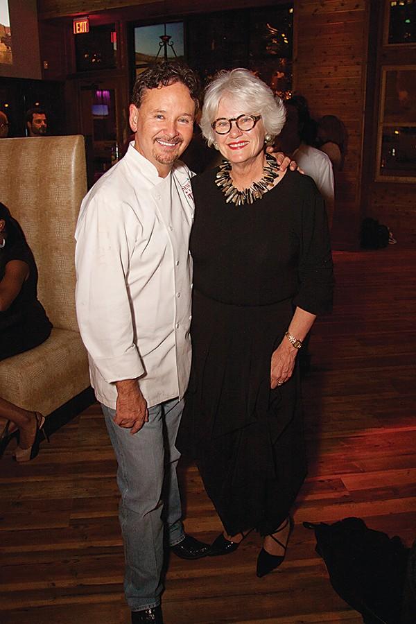 Chef Stephen Pyle and Paula Lambert - COURTESY PHOTO