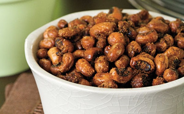 Chili Roasted Black-Eyed Peas - COURTESY OF MY RECIPES