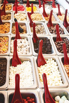 Chill Out with dozens of toppings and fro-yo, for cheap!