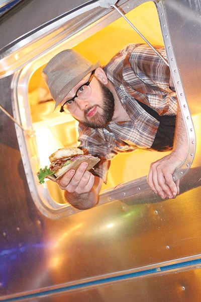 Chris Cullum, burger boy and, now, bar owner - COURTESY PHOTO
