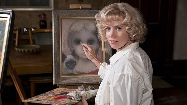 Christoph Waltz and Amy Adams in Tim Burton's Big Eyes - COURTESY