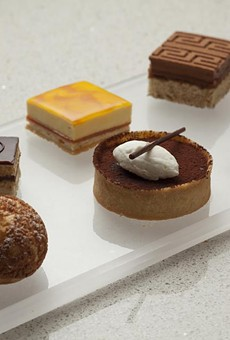 Tarts, alfajores and opera cake are on the way this March