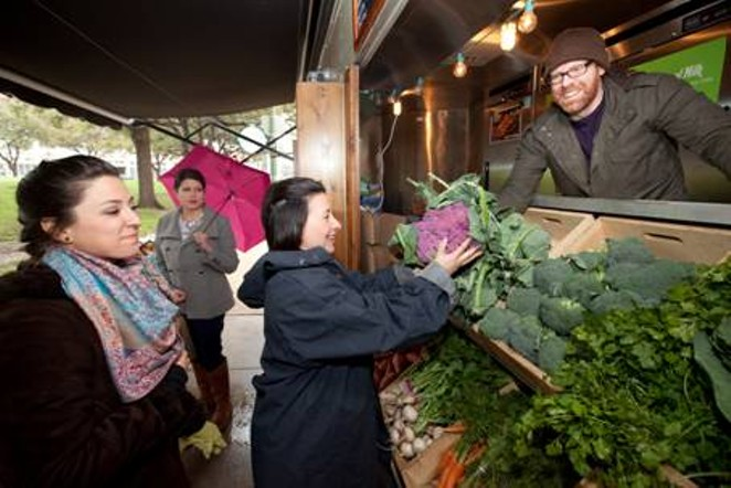 Fresh produce is heading downtown. - COURTESY